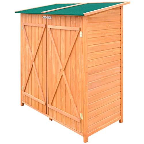 ALIMOTA Wooden Shed Garden Tool Shed Storage Room Large