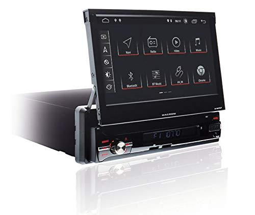 Macrom M-AN6560 Autoradio Mono din motorisiert, Android 9.0 Zoll