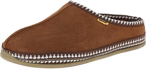 Deer Stags mens Wherever Slip on Slipper Chestnut 7 Wide US product image