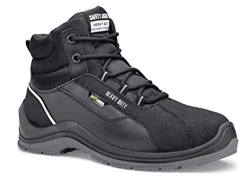 Chaussures pour Crews 70482-48/13 ELEVATE81 Bottes de sécurité mixtes avec bout en acier, 13 Royaume-Uni, Noir - Certifié EN sécurité