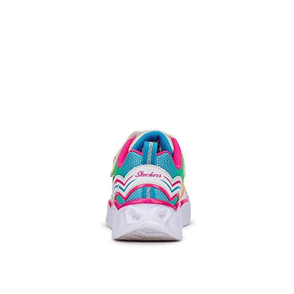 Skechers Kids Baby Girl's Heart Lights 20294N (Toddler)