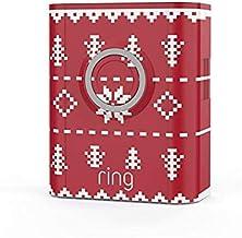 Ring Video Doorbell 3, Ring Video Doorbell 3 Plus and Ring Video Doorbell 4 Holiday Faceplate - Christmas