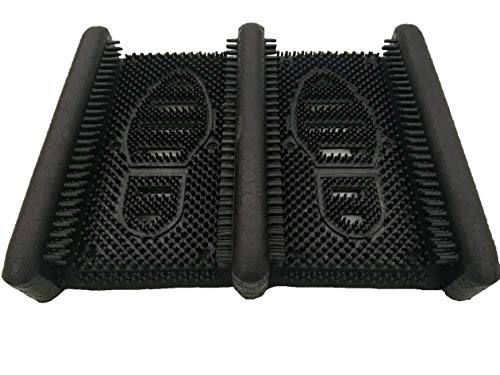 "NoTrax 352 Boot Scraper for Home or Office, 12""X15"" Black"