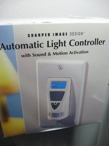 Sharper Image Automatic Light Controller Sound & Motion Si648