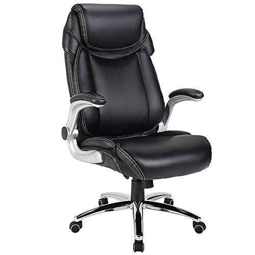 Qi Peng-//Chaise pivotante-Ordinateur Chaise Patron Chaise Chaise de Bureau Accueil Loisirs Chaise en Cuir Salle d'étude Ascenseur Chaise Chaise Espace siège Chaise pivotante (Couleur : A)