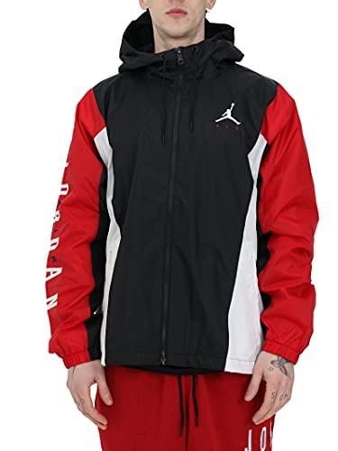 NIKE Jordan Jumpman Air Jacket, Blanco/Rojo, S para Hombre