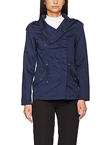Vero Moda Vmchanti Abby Jacket Dnm A, Chaqueta para Mujer, Marrón (Silver Mink), 34 (Talla del Fabricante: X-Small)