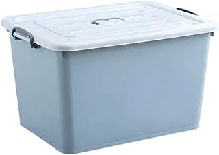 Lpiotyucwh Paniers et Boîtes De Rangement, Boîte de rangement en plastique extra-large 1pc d'épaisseur, vêtements de ménag...