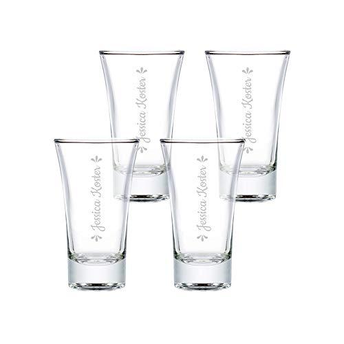 Shotglas - 4 stuks