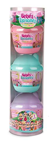 Bebés Llorones Lágrimas Mágicas 97605-Bebés Llorones Lágrimas Mágicas, unidades, color surtido, Bibe Casita Wave 2-Pack de 3 unid (IMC TOYS 97605)