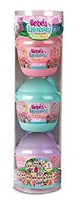 IMC Toys 97605 - Bebés Llorones Lágrimas Mágicas, Bibe Casita Wave 2 - Pack de 3 unidades, Surtidos