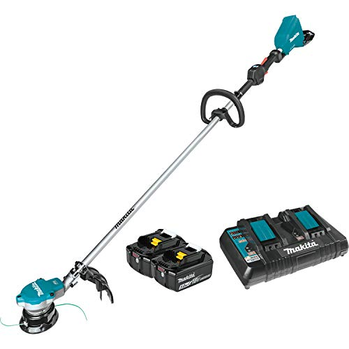 Learn More About Makita XRU15PT Lithium-Ion Brushless Cordless (5.0Ah) 18V X2 (36V) LXT String Trimm...