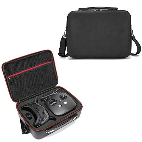 YOU339 Handtasche für DJI FPV System, Drone Flying Goggles Fernbedienung Aufbewahrungstasche, Wasserdicht und leicht, Tennis-Linien