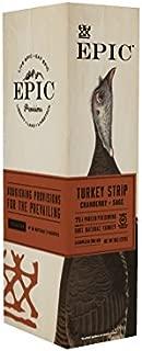 EPIC Turkey Cranberry Sage Strips, 10 Count Box 0.8oz strips