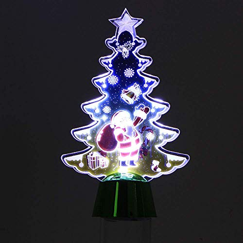 JALAL Christmas Creative Colorful Butterfly Night Light Can Paste LED Decorative Wall with Bottom Switch