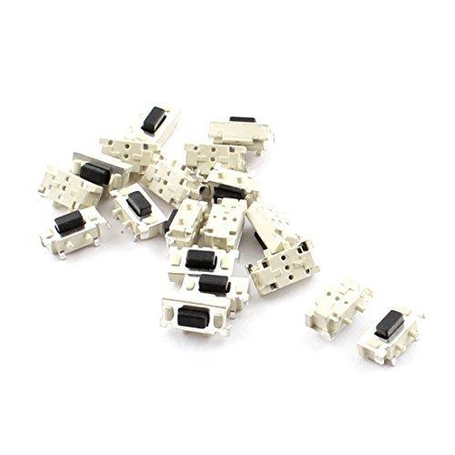 DealMux a14091500ux0142 momentáneo Tact táctil del interruptor del empuje del botón, 2-Terminal, 6 mm x 4 mm x 3,5 mm
