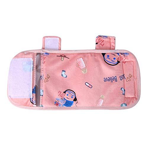 DEEYOTA ボトルウォーマー ベビーミルク加熱 USB充電 携帯型哺乳瓶ポーチ 哺乳びん保温袋 断電保護 カバー洗濯可能 暖かい 軽量 哺乳瓶ウォーマー アウトドア ピンク