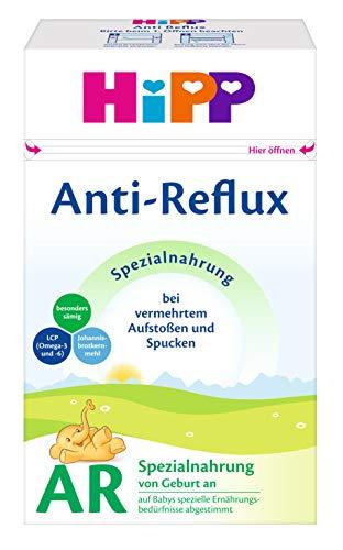 Hipp AR Bio Lait initial anti-reflux Combiotik - dès la naissance, paquet de 2 (2 x 500 g)