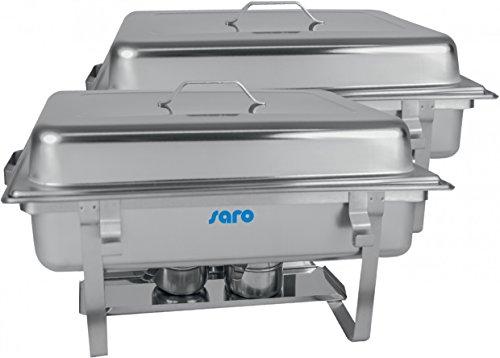 Saro 213–1018Elena Chafing Dish Twin-Pack