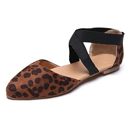 Minetom Mujer Verano Sandalias Plano Zapatos Sandals Planas Roma Sandalias Zapatillas De Ballet Casual...
