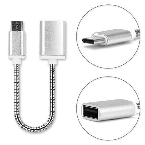 USB OTG Kabel kompatibel mit Huawei MediaPad M5 8.4 / M5 10.8 / M5 Pro / M5 lite 10 - OTG Adapter (USB C Type C USB Host Kabel 15cm)