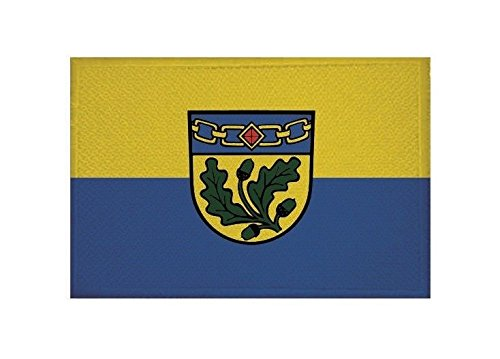 U24 Aufnäher Birkenfeld (Baden) Fahne Flagge Aufbügler Patch 9 x 6 cm