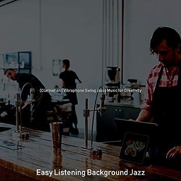 (Clarinet and Vibraphone Swing Jazz) Music for Creativity
