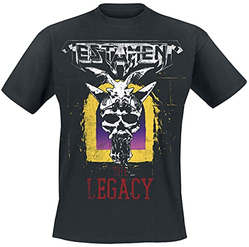 Testament The Legacy Official Mens New Black T Shirt