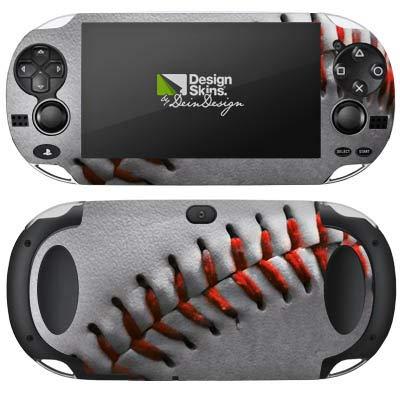DeinDesign Skin kompatibel mit Sony PS Vita 1000 Aufkleber Folie Sticker Baseball Ball Hobby