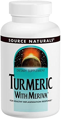 Source Naturals Turmeric with Meriva 500mg 120 Capsules 2 Pack product image