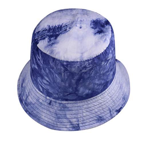 LEFJDNGB Pescador de Doble Cara Sombrero de algodón Pescador de algodón PROTECCIÓN del Sol, Compresible, Adecuado para Viajes al Aire Libre en Verano Unisex Lienzo Pescador de Doble Cara.