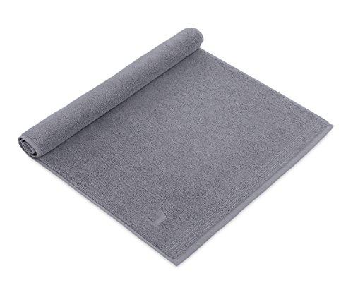 möve Superwuschel Duschvorlage 50 x 70 cm aus 100% Baumwolle, stone
