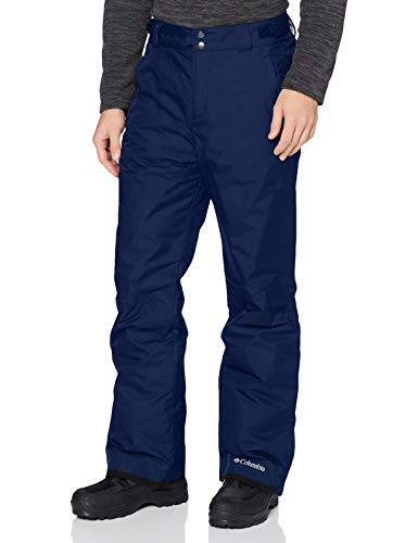 Columbia Homme Pantalon de Ski, BUGABOO OMNI-HEAT, Nylon, Bleu (Collegiate Navy), Taille : XL