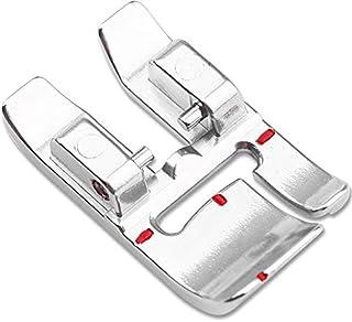 ZIGZAGSTORM 820676096 Bi-Level Topstitch Presser Foot for Pfaff Group D,E,J,G,K with IDT Sewing Machine 820676096