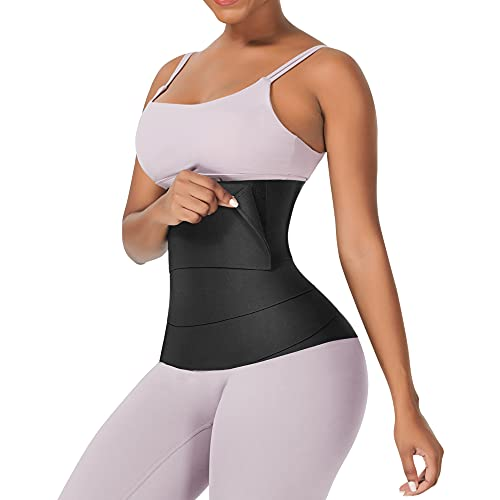 Wonder-Beauty Tik Tok Bandage Tummy Wrap Waist Trainer for Women Waist Wrap Band for Stomach Plus Size