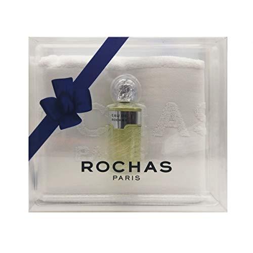 Rochas - Juego de Agua de Colonia 100 ml + Toalla 100% algodón