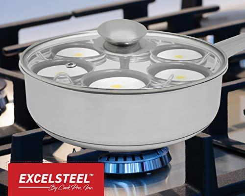 Excelsteel-1810-Stainless-6-Non-Stick-Egg-Poacher