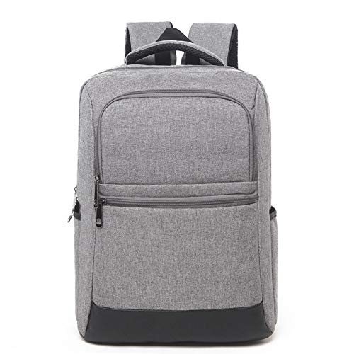 Backpack IBHT Universal Multi-Function Oxford Cloth Laptop Computer Shoulders Bag Business Backpack Students Bag, Size: 42x30x11cm, (Black) Grey