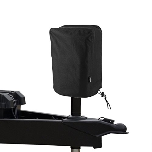 BougeRV 600D Polyester Electric Tongue Jack Cover RV Accessories Universal Trailer RV Electric Tongue Jack Protective Cover Camper Accessories for Outside (Large Size 14″H x 5″W x 10″D)