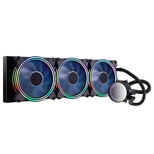 FHDFH Ventilador silencioso de refrigeración de agua para computadora de escritorio 240/360, el innovador diseño de las cuchillas del ventilador mejora el flujo de aire