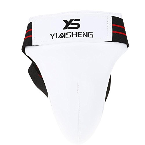 VGEBY Taewondo Male Groin Protector, Martial Art Groin Guard for Boxing, Karate, Sanda(S)