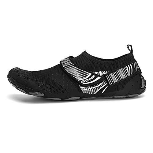 GDSSX Été extérieure extérieure Confortable Maille balayant Chaussures Respirant sèche-Cheveux Respirant à séchage Rapide Sandales de Plage Femmes Séchage Rapide (Color : Black, Size : 41 EU)