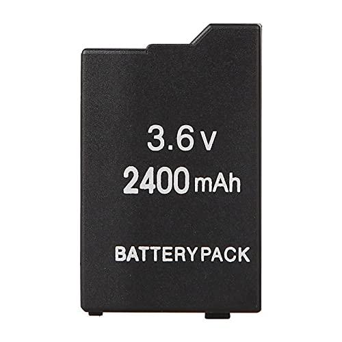 RFGTYH Batería de Repuesto de Iones de Litio de 3.6V 2400mAh para PSP 2000 3000 Batería de 3.6V Batería de máquina de Juego PSP-S360