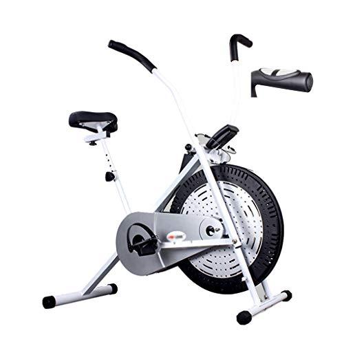 Fitness Stepper Fitness Fahrrad Haushalt Elliptische Maschine Silent-Spinnerei Fahrrad Kleine Fitnessgeräte Ausdauertraining (Color : Weiß, Size : 53 * 112 * 118cm)