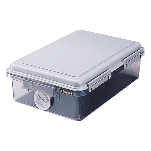ナカバヤシ キャパティ ドライボックス 防湿庫 カメラ保管 11L グレー DB-11L-N