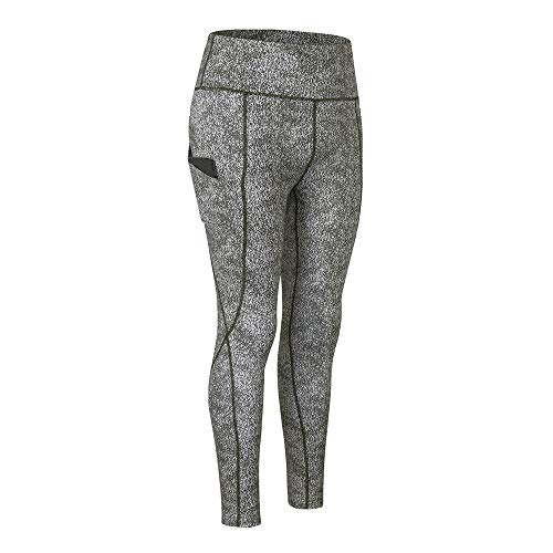 PPPPA weibliche Sportstrumpfhose gedruckt Yoga Hose mit hoher Taille Tasche hoch elastisch Laufen schnell trocknende Fitnesshose Laufen Yoga Hose hohe Taille Hüften Enge Yoga Kleidung Hüfte Sporthose