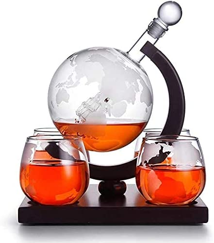 beautiful Los Angeles Mall Whiskey 2021 new Decanter Glasses Whisky Globe