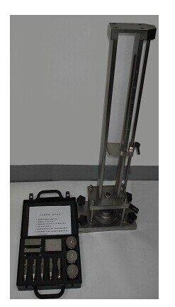Gowe Schilderij Film Impactor Impact Tester Drop hoogte: 0-500mm, Drop hamer: 300g, 500g, 1000g