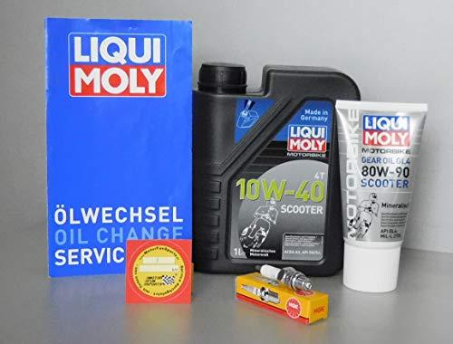Wartungs Set AGM Motors GMX 450 - Service Inspektion Zündkerze Öl