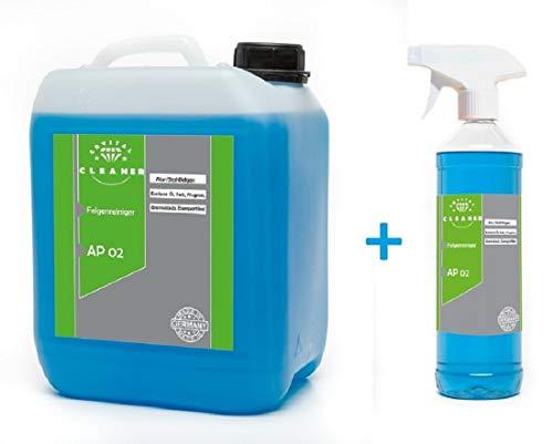 Cleanerist 5+1 Liter Felgenreiniger AP02 für Alufelgen Stahlfelgen säurefrei